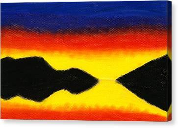Colours Of Sky 2 Canvas Print by Hakon Soreide