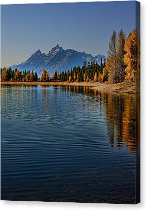 Colter Bay Canvas Print