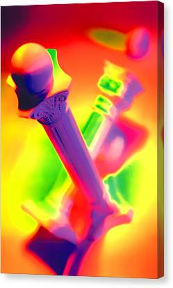 Columns  Canvas Print by Mauro Celotti