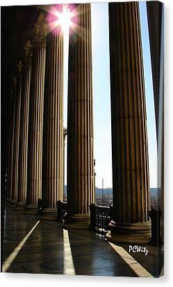 Columns Canvas Print by Patrick Witz