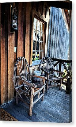 Come And Sit A While Canvas Print by Sandi OReilly