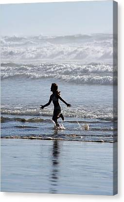 Come As A Child Canvas Print by Holly Ethan