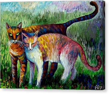 Canvas Print - Come To See My Parents by Elisheva Nesis