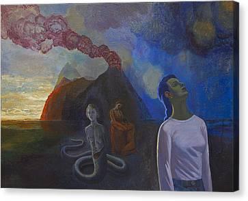 Comes The Storm Canvas Print by Fernando Alvarez