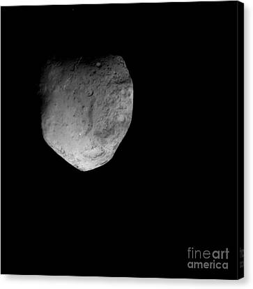 Comet Tempel 1 Canvas Print by Stocktrek Images