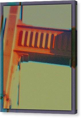 Canvas Print featuring the digital art Coming In by Richard Laeton