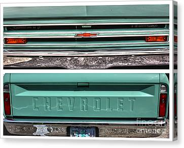 Coming Or Going--still A Chevy Canvas Print by David Bearden