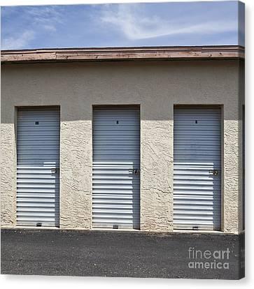 Commercial Storage Facility Canvas Print by Paul Edmondson