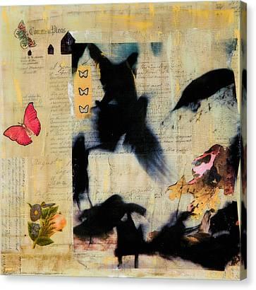 Ephemera Canvas Print - Common Pleas by Regina Thomas