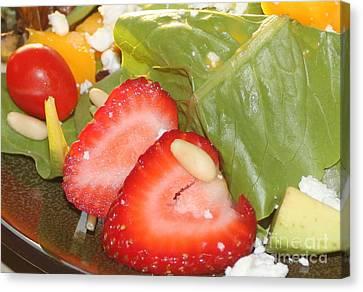Complimentary Salad Canvas Print