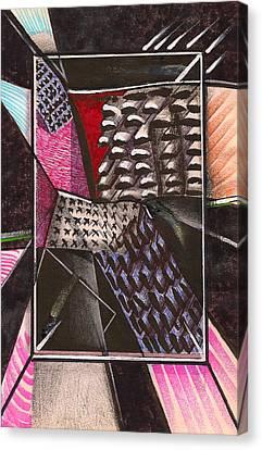 Composition Ten Canvas Print by Al Goldfarb