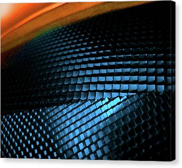 Compound Facets Canvas Print by Charles Carlos Odom