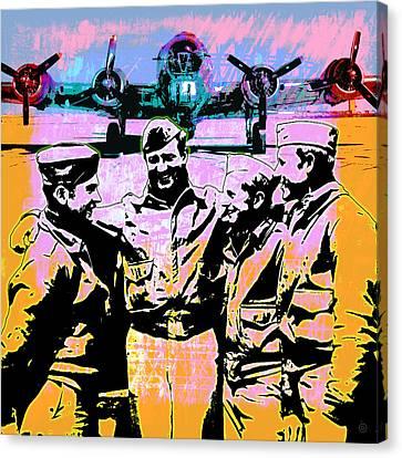 Comradeship Canvas Print by Gary Grayson