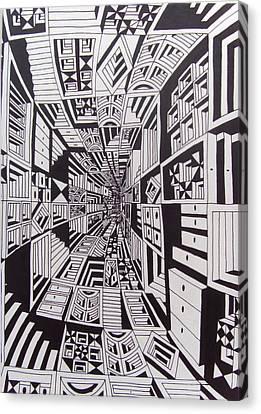 Conceito Canvas Print by Mario Fresco