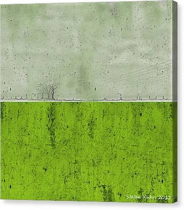 Sky Line Canvas Print - Concrete Landscape 1 by Steve K