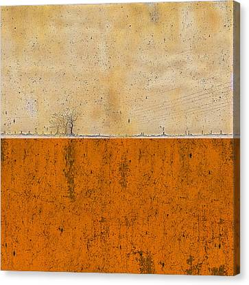 Concrete Landscape Two Canvas Print by Steve K