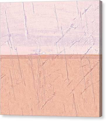 Dust Canvas Print - Concrete Seascape One by Steve K