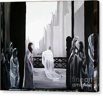 Condemned Canvas Print by Lisa Ivey