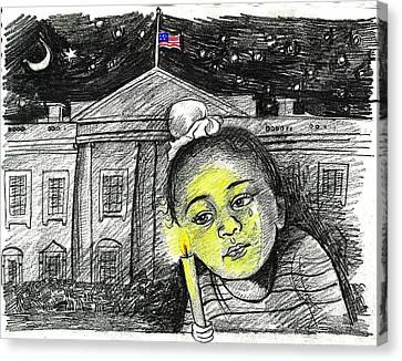 Condolence  Canvas Print by Daljeet  Kaur