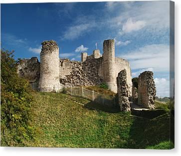 Conisborough Castle Canvas Print
