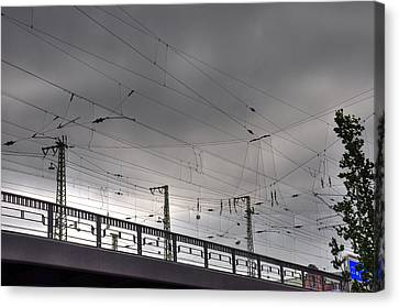 Connections Canvas Print by Barry R Jones Jr
