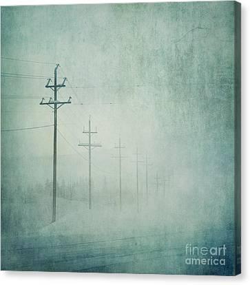 Connenction Canvas Print by Priska Wettstein