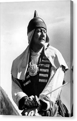 1956 Movies Canvas Print - Conqueror, John Wayne, 1956 by Everett