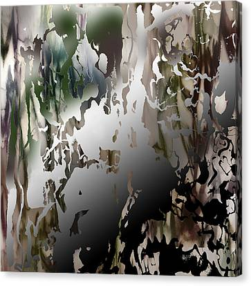 Conscious Effort Detail 6 Canvas Print by Richard Fisher