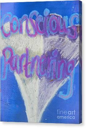 Conscious Partnering Canvas Print