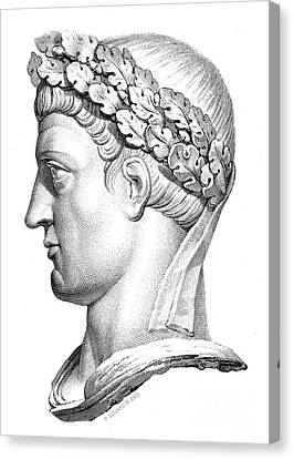 Constantine I (d. 337) Canvas Print by Granger