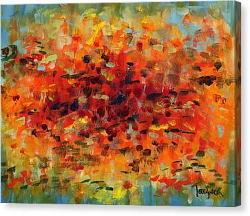 Contemporary Art Nineteen Canvas Print