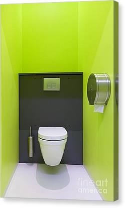 Contemporary Toilet Canvas Print