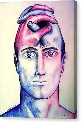 Contralateral Stimuli Canvas Print by Paulo Zerbato