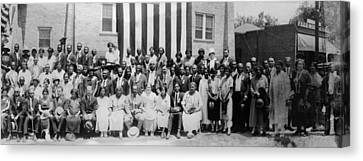 Convention Of The National Association Canvas Print by Everett