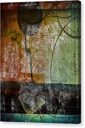 Conversation Decline Canvas Print by Jerry Cordeiro
