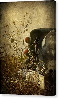 Conversation Dirt Road Canvas Print by Empty Wall