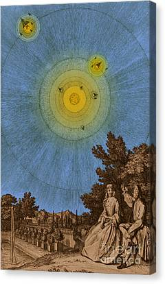 Conversations On The Plurality Canvas Print by Science Source