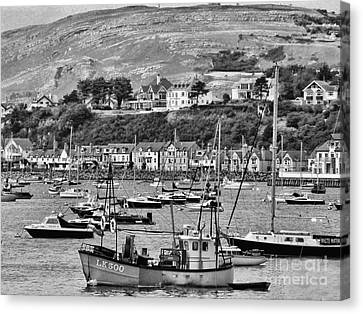 Conway Bay 2 Canvas Print by Graham Taylor
