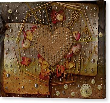 Cookie Art In Shimmering Style Canvas Print
