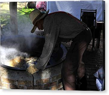 Cooking Cane Canvas Print by David Lee Thompson