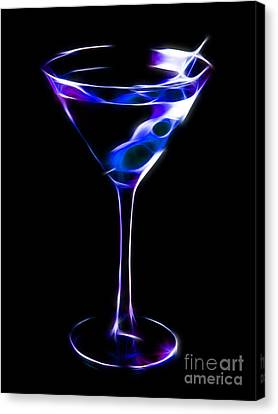 Kitschy Canvas Print - Cool Martini by Wingsdomain Art and Photography