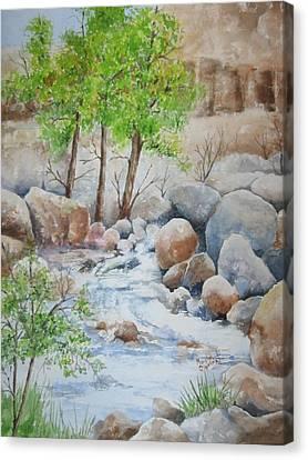 Cooling Stream II Canvas Print