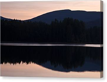 Canvas Print featuring the photograph Cooper Lake Dawn by Nancy De Flon