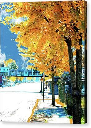 Cooper Street Memphis Canvas Print by Lizi Beard-Ward
