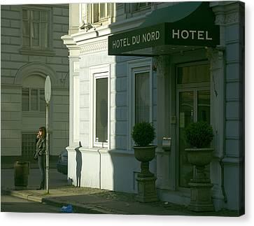 Canvas Print featuring the photograph Copenhagen by Steven Richman