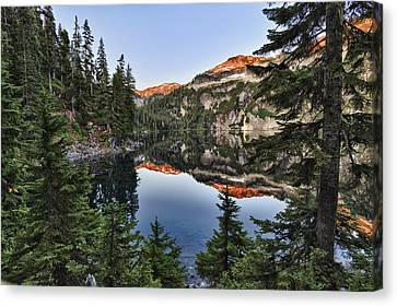 Copper Lake Canvas Print