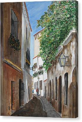 Cordova Lane Canvas Print