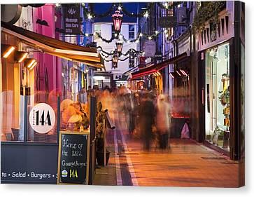 Cork, County Cork, Ireland A City Canvas Print by Peter Zoeller