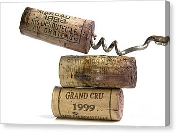 Cork Of French Wine Canvas Print