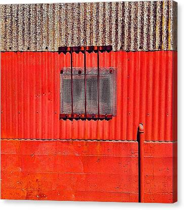 Corrugated Canvas Print by Julie Gebhardt